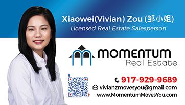 momentum business card